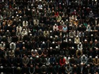Binlerce Kişi Sabah Namazında Çamlıca Camisi'nde Buluştu