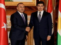 Çavuşoğlu IKBY Başbakanı Neçirvan Barzani İle Görüştü