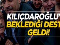Kemal Kılıçdaroğlu'na beklediği destek geldi!