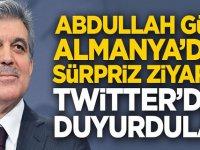 Abdullah Gül'e Almanya'dan sürpriz ziyaret!