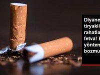 Diyanet'ten sigara tiryakilerini rahatlatacak fetva! Bu yöntem orucu bozmuyor