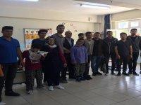 Antalya Ülkü Ocakları'ndan engellilere ziyaret