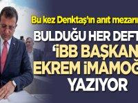 Ekrem İmamoğlu'ndan KKTC'de imza skandalı!