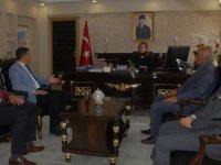 MHP'den Kaymakam Uçar'a ziyaret
