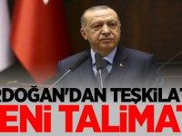 Erdoğan'dan teşkilata yeni talimat!