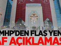MHP'den Flaş yeni af açıklaması