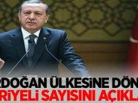 Erdoğan, Ülkesine dönen Suriyeli sayısını açıkladı!