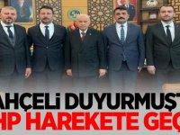 MHP Lideri Devlet Bahçeli duyurmuştu! MHP harekete geçti