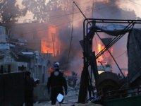 İdlib'de İftar Vaktinde Hava Saldırısı: 3 Ölü, 8 Yaralı