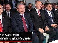 Samsun'da Tarihi Gün! Devletin Zirvesi 19 Mayıs'ın 100. Yıl Kutlama Töreninde