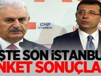 İşte Son İstanbul Anket Sonuçları!