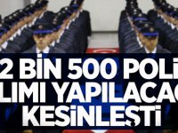 12 Bin 500 Polis Memuru Alımı Yapılacağı Kesinleşti