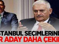 İstanbul seçimlerinde bir aday daha çekildi