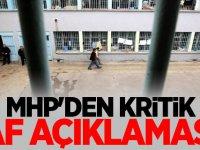 MHP'den kritik AF açıklama !