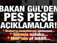 Adalet Bakanı Gül'den Kritik Açıklamalar