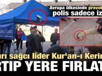 Finlandiya'da Aşırı Sağcı Lider Kur'an-ı Kerim'i Yırtıp Yere Attı