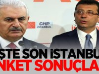 İstanbul'da son anket sonuçları açıklandı!