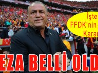 PFDK, Fatih Terim'in Cezasını Kesti