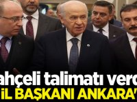 Devlet Bahçeli talimatı verdi! 50 il başkanı Ankara'da