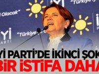İYİ PARTİ'DE İSTİFA ŞOKU!