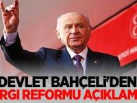 Devlet Bahçeli'den yargı reformu açıklaması