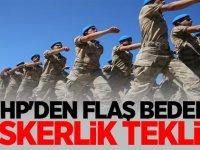 MHP'den flaş bedelli askerlik teklifi!