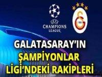 İşte Galatasaray'ın Avrupa'daki muhtemel rakipleri