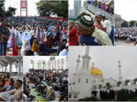 Ramazan Bayramı'nı Bir Gün Geç Kutluyorlar