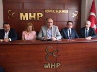 """MHP'li Kalaycı: """"Teröristlerin inleri, sığınakları, mühimmat depoları imha edilmelidir"""""""