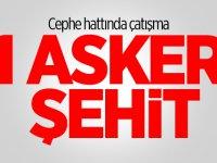 Azerbaycan cephe hattında çatışma çıktı: 1 asker şehit