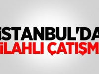 İstanbul'da sokak ortasında çatışma: Yaralılar var