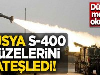 Rusya S-400 füzelerini ateşledi! Dünyaya meydan okudular