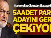 Saadet Partisi İstanbul Adayını geri mi çekiyor?