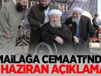 İsmailağa Cemaati'nden 23 Haziran İstanbul seçimi açıklaması