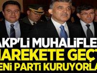 AKP'li Muhalifler Harekete Geçti! Yeni Parti Kuruyorlar