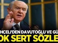 Devlet Bahçeli'den Davuoğlu ve Abdullah Gül'e çok sert sözler