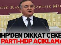MHP'den dikkat çeken İyi Parti-HDP açıklaması