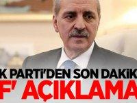 AK Parti'den son dakika 'af' açıklaması
