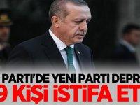 Ak Parti'de yeni parti depremi! 89 kişi istifa etti..