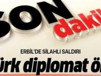Erbil'de Türk diplomatların bulunduğu restorana saldırı, 3 kişi hayatını kaybetti