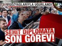 Şehit Diplomat Köse Son Yolculuğuna Uğurlandı