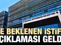 İstanbul Büyükşehir Belediyesi İstifalar