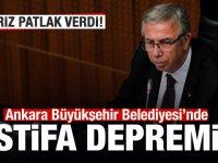 Ankara Büyükşehir Belediyesi'nde istifa şoku!