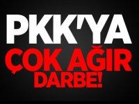 PKK'ya ağır darbe: 859 sığınak imha edildi
