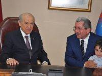 MHP Lideri Devlet Bahçeli Karabük'te