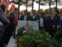 Sedat Peker, Şehit Ömer Halisdemir'i kabri başında andı