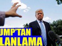 Trump'tan İran'ın iddialarına yalanlama