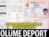Türkiye'ye sığınan Uygurlar Çin'e iade ediliyor