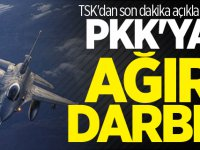 TSK'dan Son dakika Açıklaması: Çocuk Katili YPG/PKK'ya Ağır Darbe