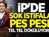 İYİ Parti'de deprem! Peş peşe istifalar